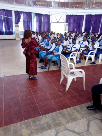 APLSCD TAKES GENETIC EDUCATION AND COUNSELING CAMPAIGN TO SCHOOLS IN EBONYI STATE.